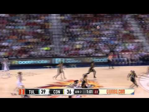Condensed Game: Tulsa Shock vs. Connecticut Sun,7/3/2014
