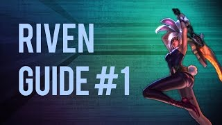 How to Riven Fast Q Combo (AA Animation cancel) +3 basic combos - Riven Guide Part 1 ft. BoxBox