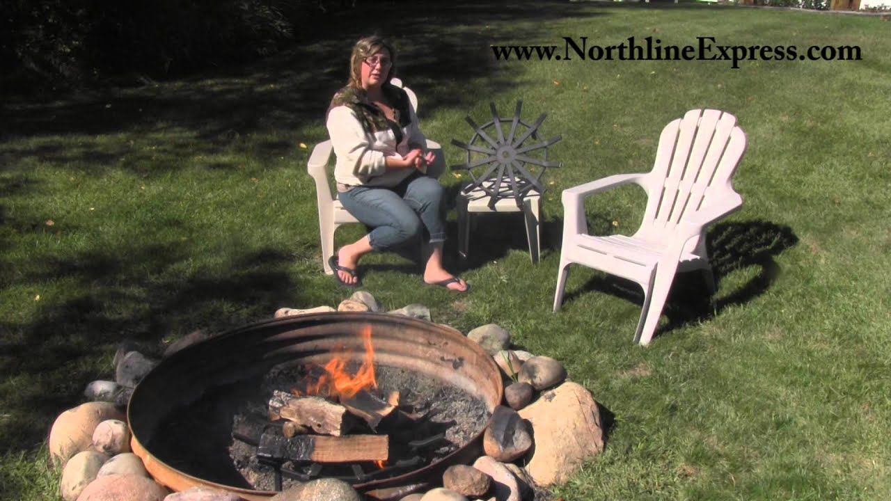 www.northlineexpress.com Video Highlights 0:12 Optimum Air flow 0:31 Spider Fire Pit Grate Features 0:53 The way it works 1:04 Comes in 2 different sizes 1:2...