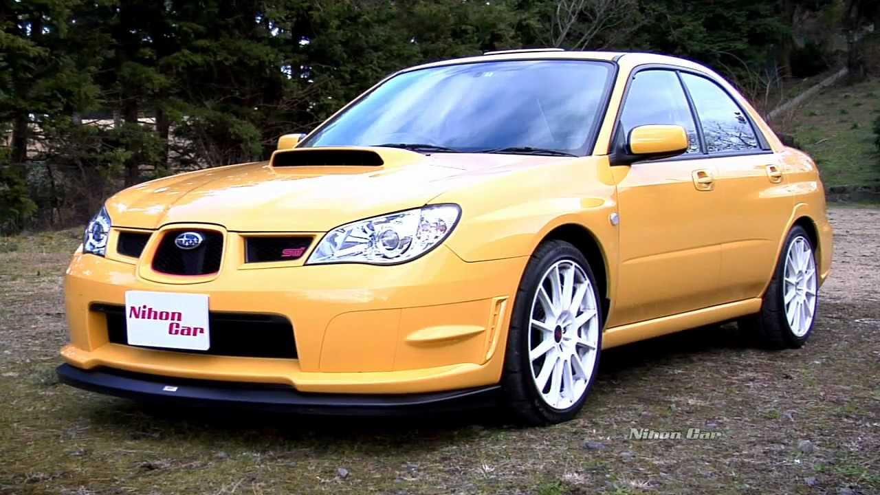 Nihon Car Subaru Wrx Sti Spec C Type Ra R Thorough
