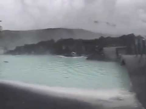 The Blue Lagoon, a geothermal spa in Reykjavík.