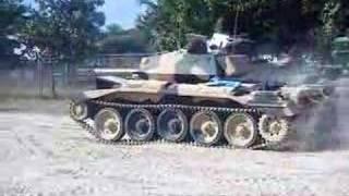 Crusader Tank Bovington Tankfest 2008