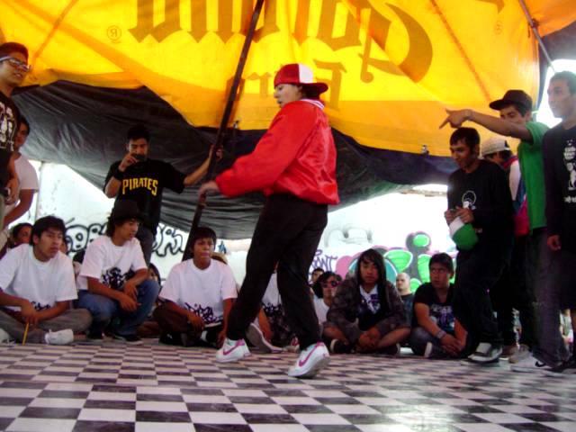 Robadores De Pista Jam 2011 (first battle)