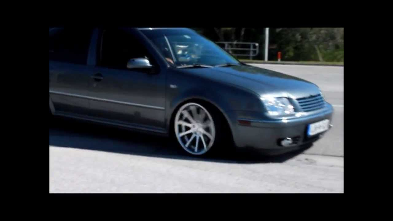 Stanced Vw mk4 R32, 20th Anniversary, and Jetta - YouTube