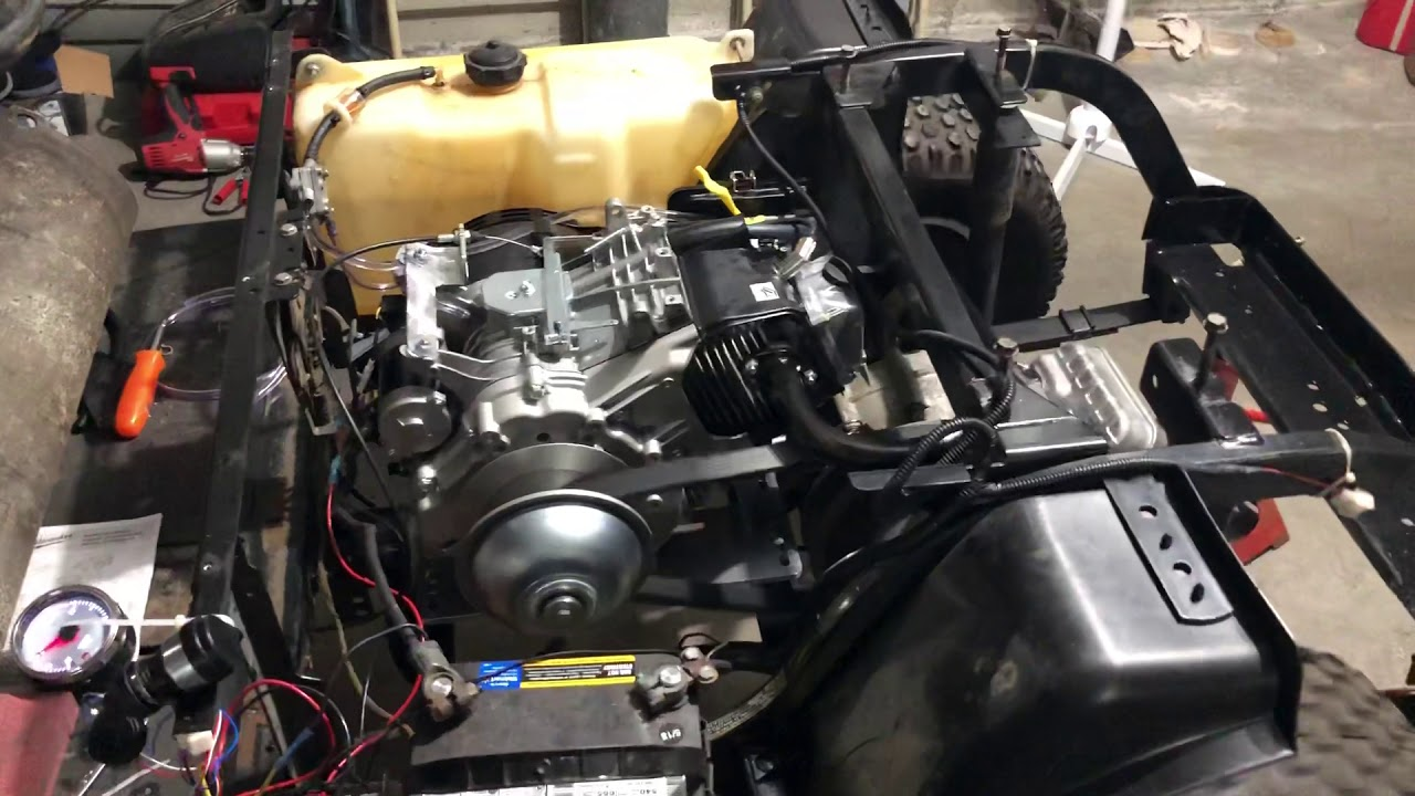 Vegas Carts 625cc test run