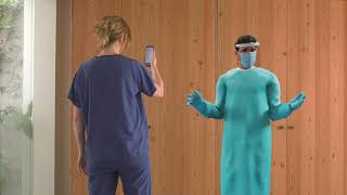 WHO Academy: Augmented Reality Course on Personal Protective Equipment