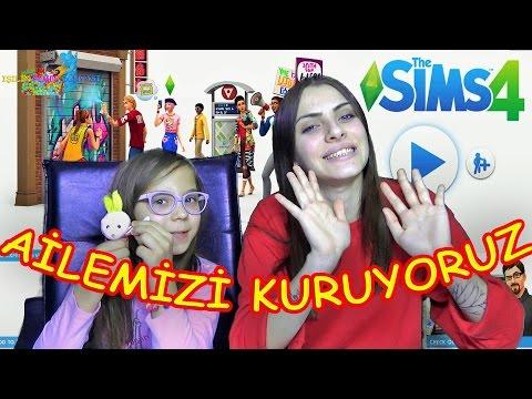 Sims 4 IŞILIN PEMBE DÜNYASI Ailesini Kuruyoruz - Eğlenceli Oyun Videosu - Funny Games