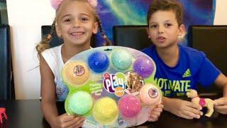 Glitzy Play Foam- Squishy Squashy Shaping Fun/ Fun For Kids