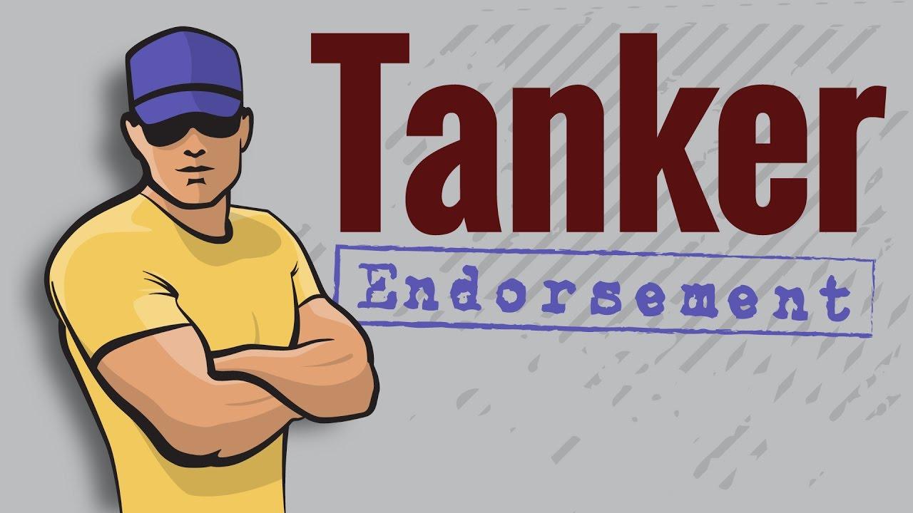 Cdl Permit Tanker Endorsement Youtube