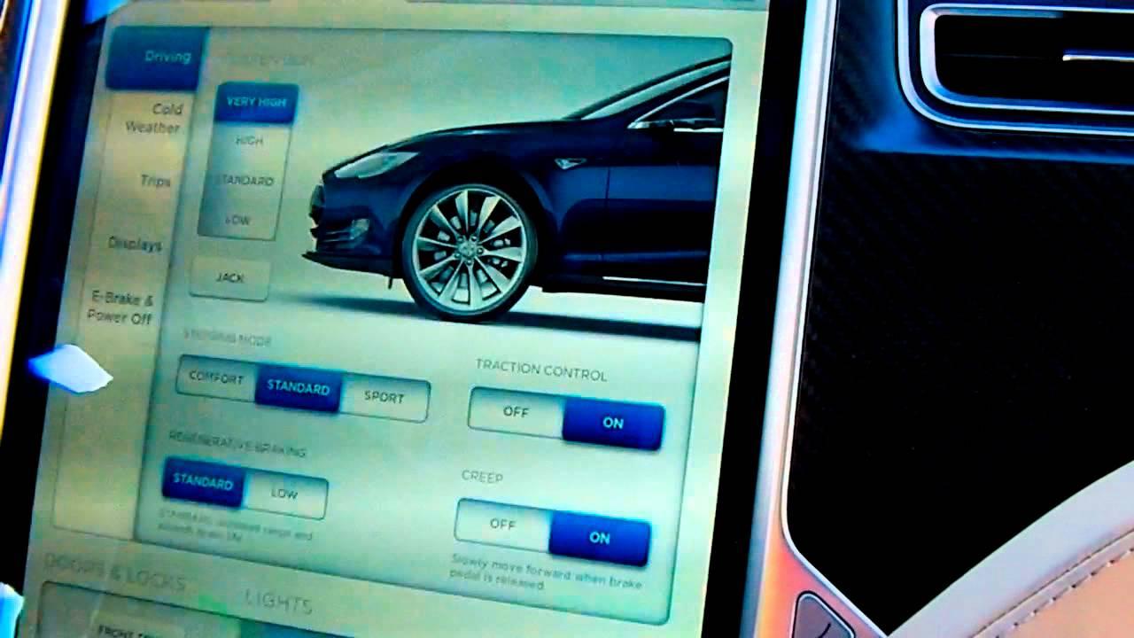 2014 2015 Tesla Model S Emergency Tow Mode Gordymarifilms