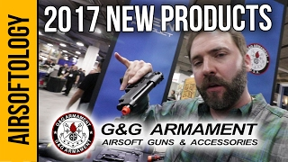 G&G Airsoft New Products | Airsoftology SHOT Show 2017