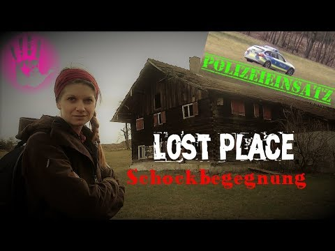 Lost Place ⚠️ Polizeieinsatz - Schockbegegnung