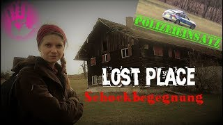 Lost Place ⚠️ Polizeieinsatz - Schockbegegnung 😱 4K - Vanessa Blank