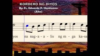 I08b Kordero ng Diyos - by E. Hontiveros (Alto)