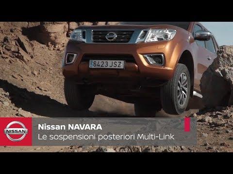 Nissan Navara: le sospensioni posteriori Multi-Link