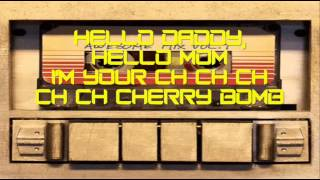 The Runaways - Cherry Bomb (Lyrics) (From The Guardians Of The Galaxy)