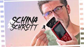 Der KREATIVSTE #SchinaSchrott bisher: Das Kopfhörer-Handy