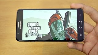 Samsung Galaxy J7 Prime GTA San Andreas Gaming Review! (4K)