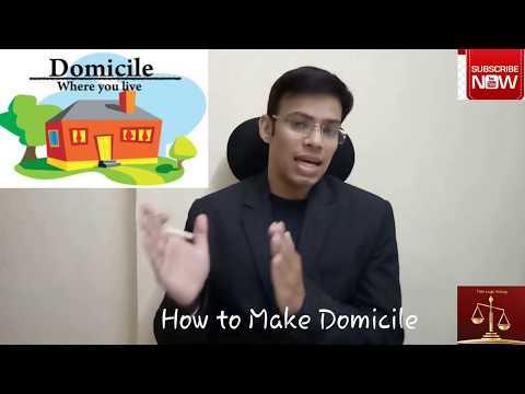 """जानिए क्यों जरूरी है डोमिसाइल सर्टिफिकेट """"How to make domicile certificate"""""""