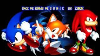 Pack de ROMs de Sonic  - (Z3N3K) | SEMANA 50
