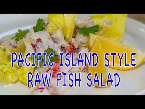 COCONUT & LEMON RAW FISH PACIFIC ISLAND STYLE