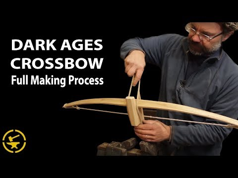Dark Ages Crossbow - Full making process