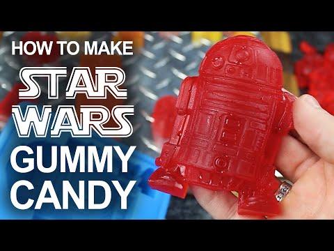 How To Make Star Wars Gummy Candies