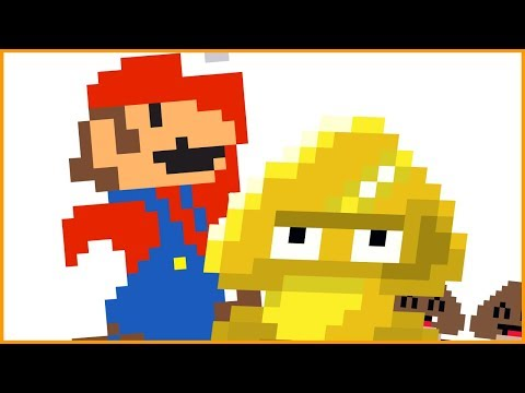 Gold Goomba Glitz | Mario Animation