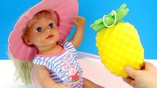 БЕБІ БОН БОЇТЬСЯ МИЛА Лялька #Бебибон Не Хоче Мити Волосся Іграшки Для дівчаток Граємо Як Мама