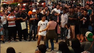 DESPACITO-Nurul feat redeem buskers,menari rancak dengan bro hemsem baju ketat