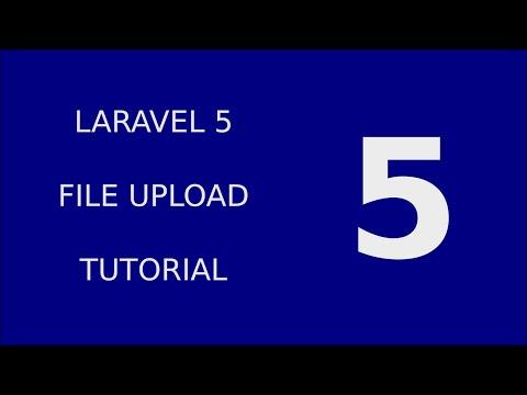 Laravel 5 FileUpload Tutorial System - 5 Validate File Upload Types and Size part 2