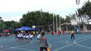 初中女子組(初) 乘翔體育會對沙田循道衛理中學 2015年1