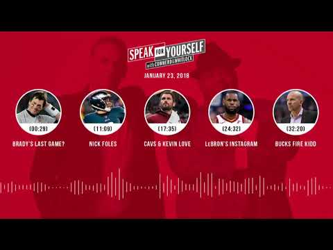SPEAK FOR YOURSELF Audio Podcast (1.23.18) with Colin Cowherd, Jason Whitlock | SPEAK FOR YOURSELF