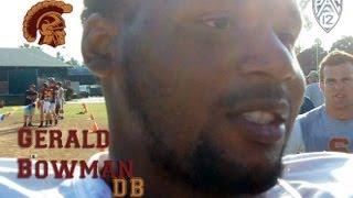 Meet Gerald Bowman, USC, DB