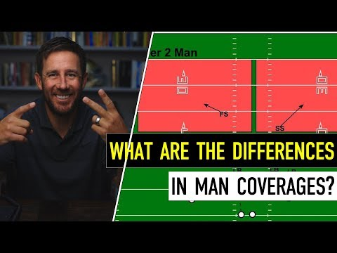 Xs & Os: What are the Differences In Man Coverages?