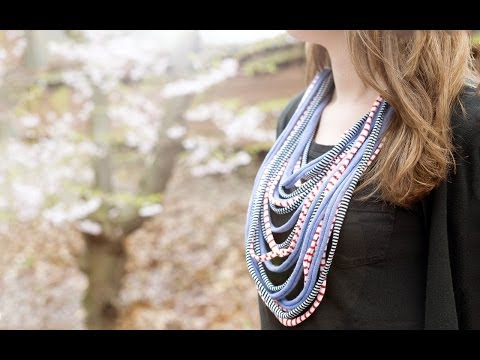 Saako Design - Scarf Necklace