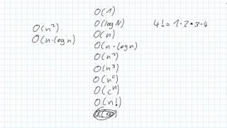 Algorithmen [006] - O Notation