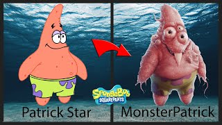 SpongeBob SquarePants characters aṡ Monster and Zombies   ALL Characters   😱HORROR VERSION