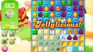 Candy Crush Jelly Saga Level 1423 (3 stars, No boosters)