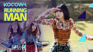 Lisa shows everyone the hipster dance [Running Man Ep 525]
