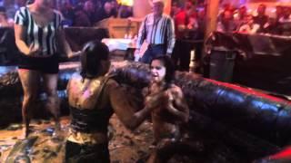 Mud wrestling gilleys Las Vegas 2/5/14