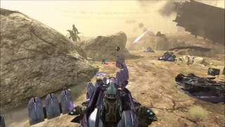 Halo 3 ODST - What Happens If You Finish Uplift Reserve In A Wraith?