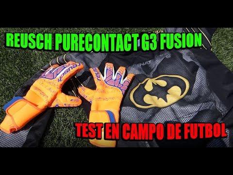 REUSCH PURECONTACT G3 FUSION - TEST EN CAMPO DE FUTBOL - Ryutron