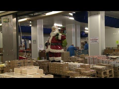 Les Halles de Rungis se préparent à la ruée de Noël