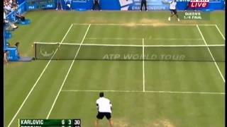Magic on grass- Ivo Karlovic-part 1