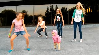Incredible 1 Year Old Hitting Hip Hop Choreography. Really cool dance