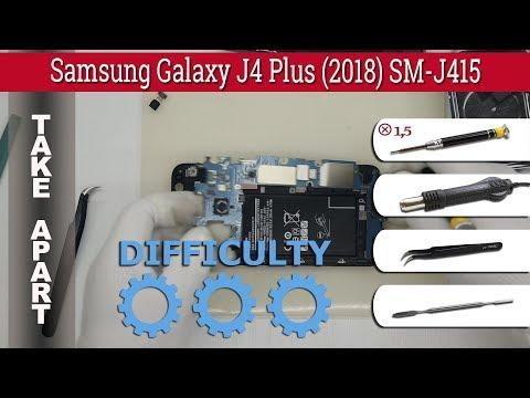 How To Disassemble 📱 Samsung Galaxy J4 Plus (2018) SM-J415 Take Apart