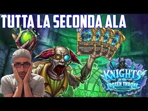 Hearthstone ITA: La Seconda Ala di Frozen Throne [4 x Yoggy!!!]