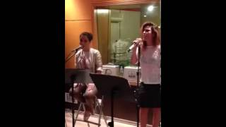 Wanessa feat Lissah Martins Ensaiando Right Now (Cover Rihanna)