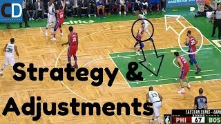 The Strategic Battle With The Al Horford Pick & Pop
